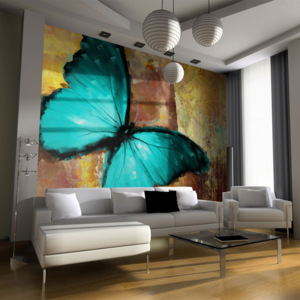 Fototapeta - Painted butterfly - 200x154