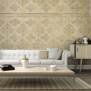 Fototapeta - Faded baroque wallpaper - 450x270