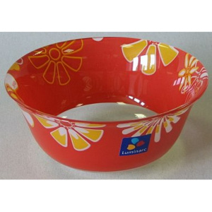 Luminarc GRAPHIC FLOWERS RED Miska 12 cm dekor C6110