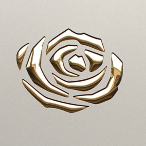 Roses Champagne PF met/Gold 13918 NA