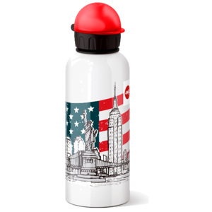 Emsa Láhev na pití FLASK TEENS - NEW YORK 0,6l