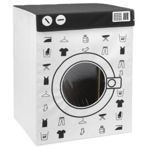 Kontejner na špinavé prádlo WASHING MACHINE, 100 l, XL5902026794190