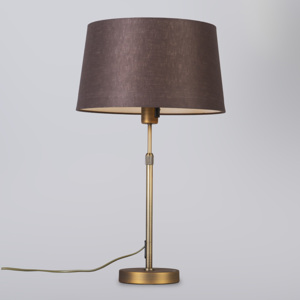 Stolní lampa Partoll Brown and Bronse