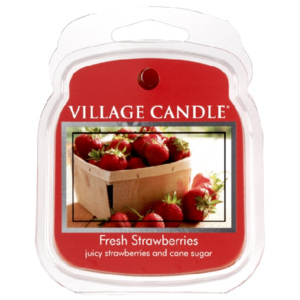 VILLAGE CANDLES Vosk do aromalamp Čerstvé jahody