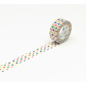 MT MASKING TAPE Páska Colorful dot