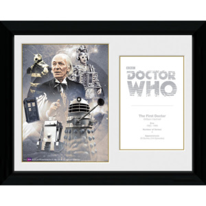 Obraz na zeď - Doctor Who - 1st Doctor William Hartnell