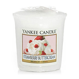 Yankee Candle – votivní svíčka Strawberry Buttercream 49 g