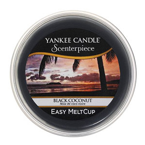 Yankee Candle – vosk Black Coconut, Easy MeltCup