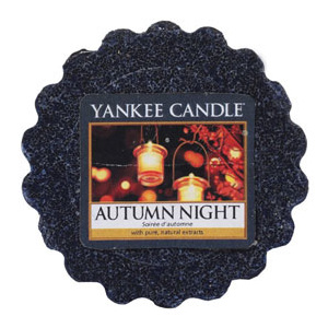 Yankee Candle – vonný vosk Autumn Night 22 g