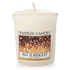 Yankee Candle – votivní svíčka All Is Bright 49 g