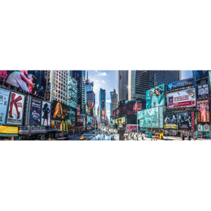 Plakát, Obraz - New York - Times Square Panoramic, (91,5 x 30 cm)