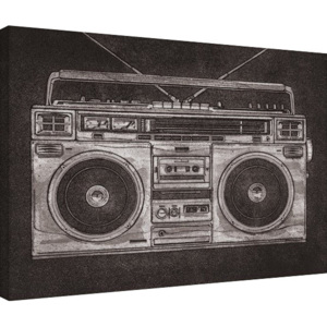 Obraz na plátně Barry Goodman - Ghetto Blaster, (80 x 60 cm)