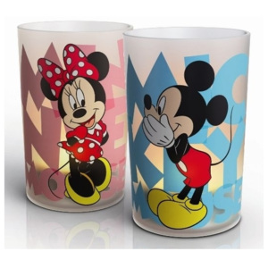 Philips Philips 71712/55/16 - LED stolní lampa CANDLES MICKEY & MINNIE 2xSET LED/0,125W P0687