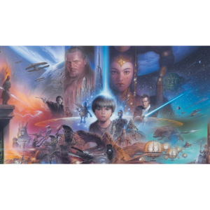 Fototapeta: Star Wars The Phantom Menace (1) - 184x254 cm