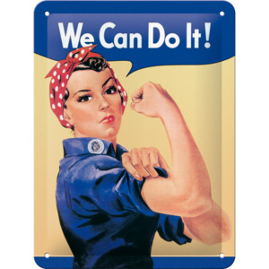 Nostalgic Art Plechová cedule: We Can Do It! - 20x15 cm