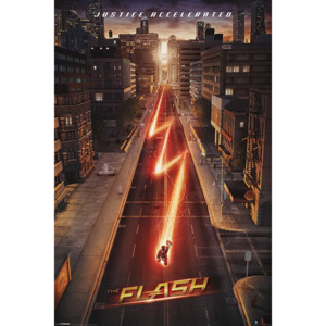 Plakát - The Flash (Justice Accelerated)
