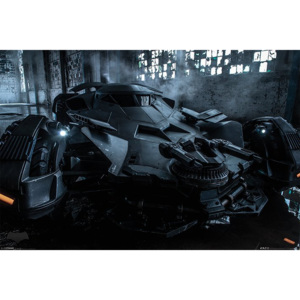 Plakát - Batman vs. Superman (Batmobil)