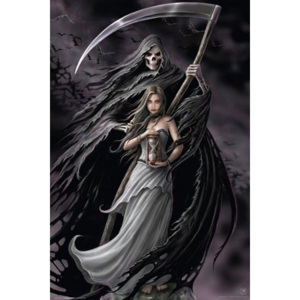 Plakát - Anne Stokes summoning the reaper