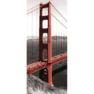 C154VET Fototapeta: Golden Gate Bridge (1) - 211x91 cm