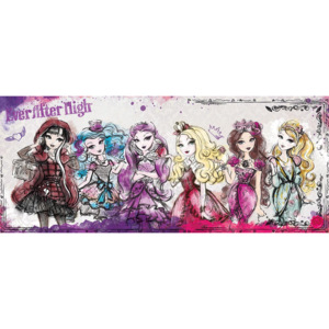C2250VEP Fototapeta: Mattel Ever After High (5) - 104x250 cm