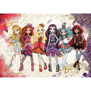 C2291P4 Fototapeta: Mattel Ever After High (2) - 184x254 cm