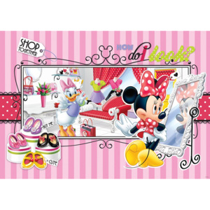 C541P4 Fototapeta: Minnie Shop together - 184x254 cm