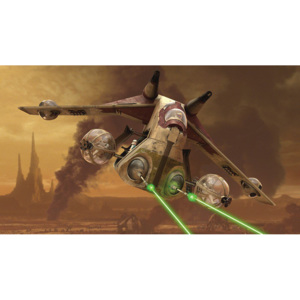 C1593P4 Fototapeta: Star Wars Attack of the Clones (1) - 184x254 cm