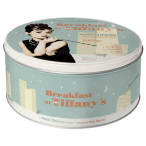 Nostalgic Art Plechová dóza - Breakfast At Tiffany's 3,3l