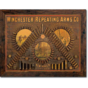 Plechová cedule: Winchester Repeating Arms