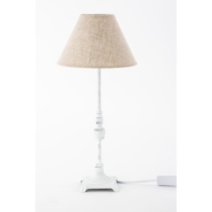 IN Stolní lampa Brown and white metal 22X48