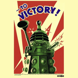 Plakát - Doctor Who (To Victory)