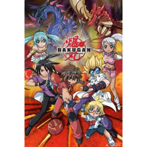 Plakát - Bakugan action