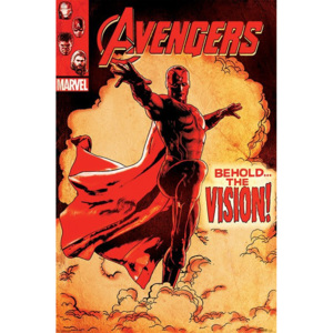 Plakát - Avengers Age of Ultron (Behold the Vision!)