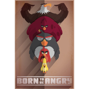 Plakát - Angry Birds (Born to be Angry)