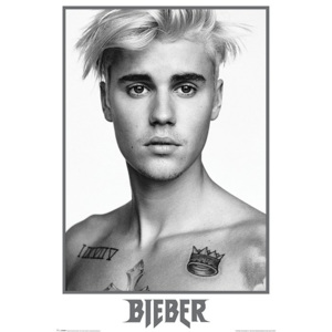 Plakát - Justin Bieber Black & White (2)