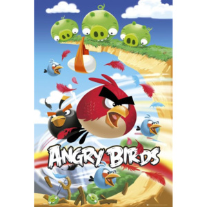 Plakát - Angry Birds (Attack)