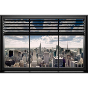 Plakát - New York Window Blinds