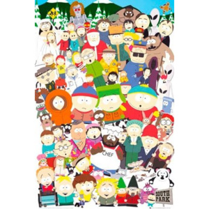 Plakát - South Park cast