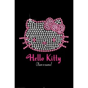 Plakát - Hello Kitty (Bling)