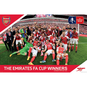 Plakát - Arsenal FC (FA Cup)