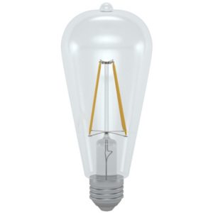 SkyLighting LED ST64-2706D 6W E27 4200K retro LED žárovka