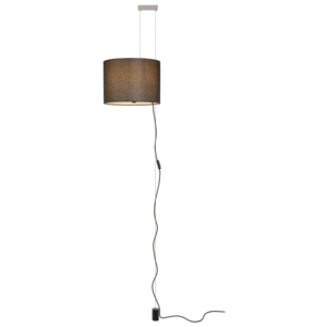 LUCIDE SAXEN - Pendant light - Ø 36 cm - Black