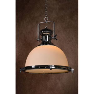 LUCIDE OLD BURDIE - Pendant light - Ø 44 cm - Opal