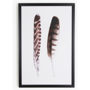 Obraz Graham & Brown Feather Couple, 40 x 60 cm