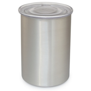 Planetary Design dóza na kávu brushed steel 450 g