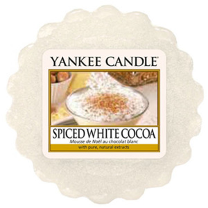 Yankee Candle – vonný vosk Spiced White Cocoa 22 g