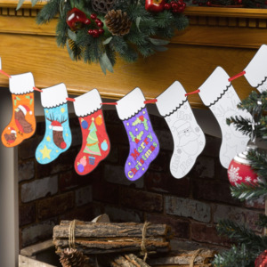 Girlanda Neviti Stocking Bunting