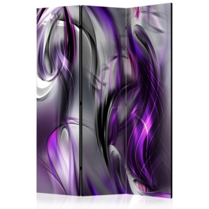 Paraván - Purple Swirls [Room Dividers] - 135x172