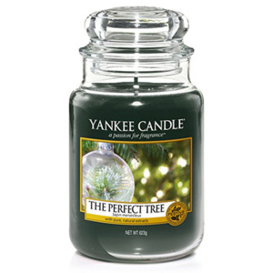 Yankee Candle – vonná svíčka The Perfect Tree, velká 623 g