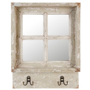 Zrcadlo Window Glass s patinou - 45*7*57 cm Clayre & Eef